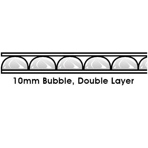 10mm Bubble Double Layer