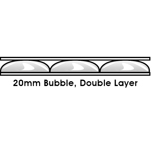 20mm Bubble Double Layer