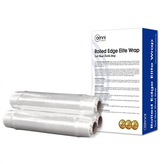 Omni Elite Wrap Rolled Edge Hand Stretch Wrap.