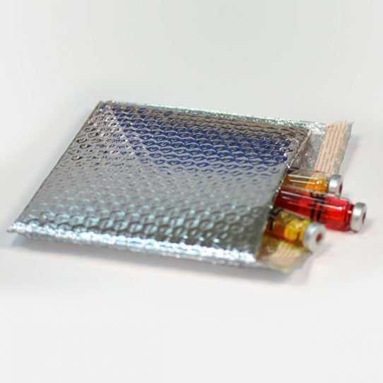 Foil Bubble Padded Mailing Bags silver