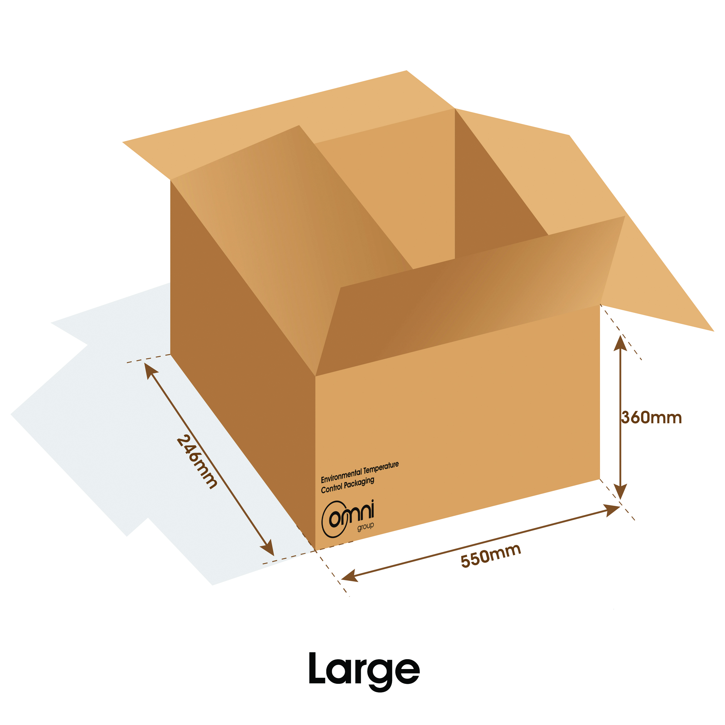 Large Temp Guard Carton