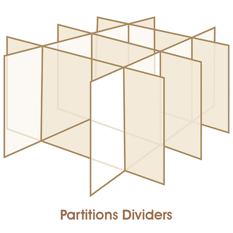 Partitions Dividers 1
