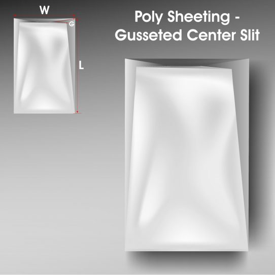 Poly Sheeting Gusseted Center Slit 1