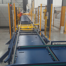 Inline Pallet Wrapping System - Custom