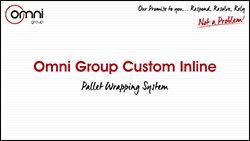 Omni Group Custom Inline Pallet Wrapping System