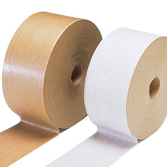 Gummed Tape – Water Activated White